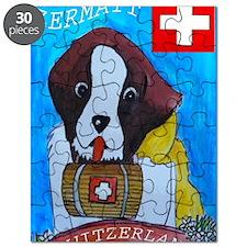 St Bernard card Puzzle