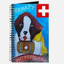 St Bernard card Journal