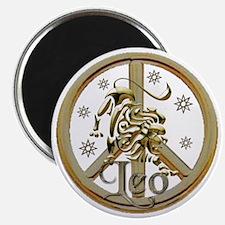 leo_zodiac_peace10x Magnet