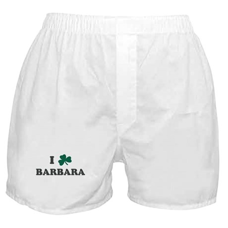 I Shamrock BARBARA Boxer Shorts