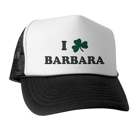 I Shamrock BARBARA Trucker Hat