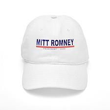 Mitt Romney (simple) Baseball Cap