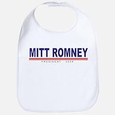 Mitt Romney (simple) Bib