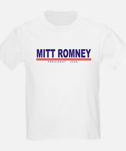 Mitt Romney (simple) Kids T-Shirt
