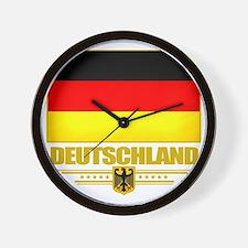 Germany (Flag 10) Wall Clock