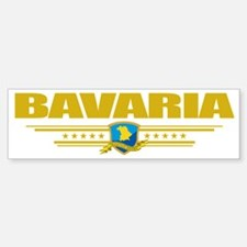 Bavaria (Flag 10) pocket Bumper Bumper Sticker