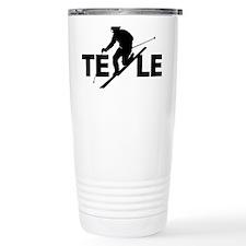 TE LE black Thermos Mug