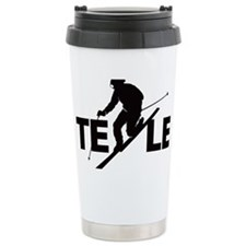 TE LE black Travel Mug