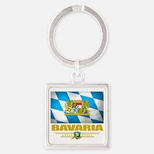 Bavaria (Flag 10) Square Keychain