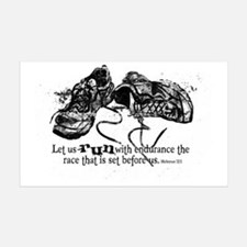 runningshoes Decal Wall Sticker