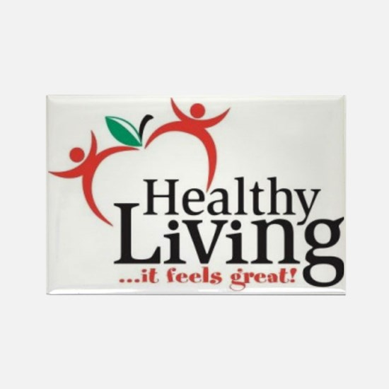 Celebration-of-a-Healthy-Living-t Rectangle Magnet