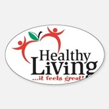 Celebration-of-a-Healthy-Living-thr Sticker (Oval)