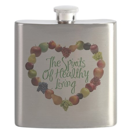 The Spirits of Healthy Living714 Flask