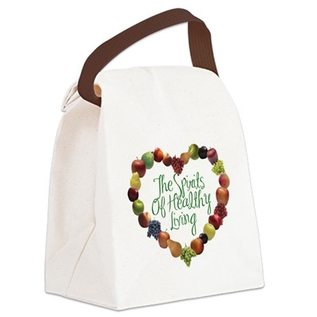 The Spirits of Healthy Living714 Canvas Lunch Bag