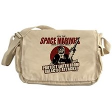 Join the Space Marines Messenger Bag