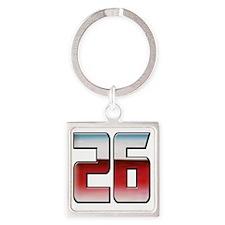 DPTRANSFORMERS26 Square Keychain