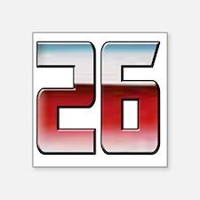 "DPTRANSFORMERS26 Square Sticker 3"" x 3"""