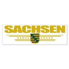 Sachsen (Flag 10) pocket Bumper Sticker