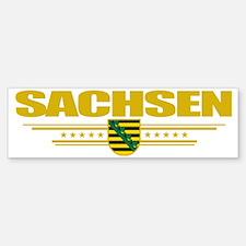 Sachsen (Flag 10) pocket Sticker (Bumper)