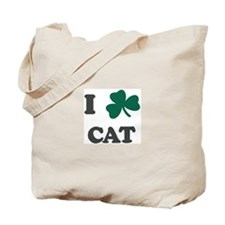 I Shamrock CAT Tote Bag