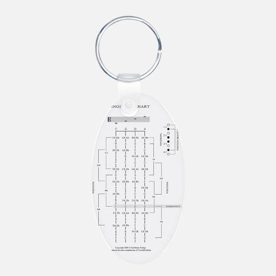 viola_fingerboard Keychains