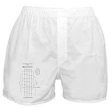viola_fingerboard Boxer Shorts