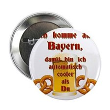 """I come from Bavaria 2.25"""" Button"""