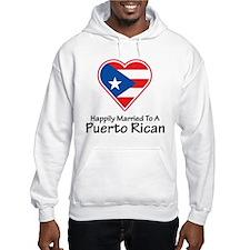 Happily Married Puerto Rican Hoodie