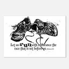 runningshoes Postcards (Package of 8)