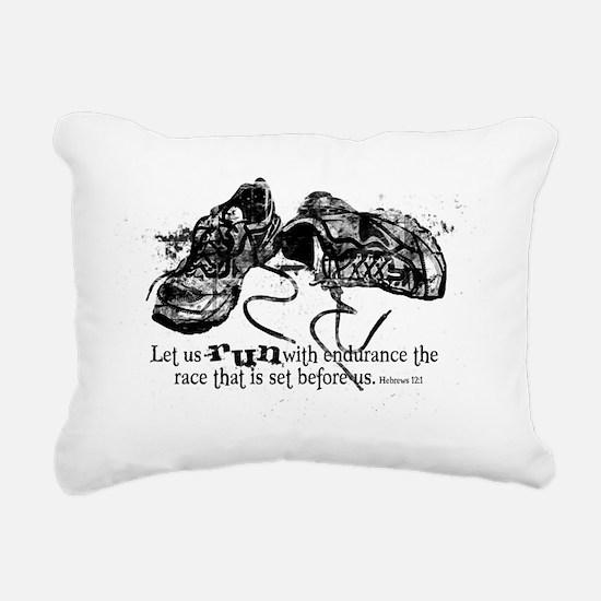 runningshoes Rectangular Canvas Pillow