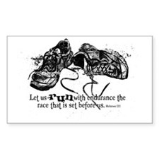 runningshoes Bumper Stickers