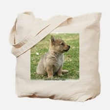 Swedish Vallhund Pup 9Y165D-131 Tote Bag