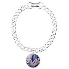 Elsa card Charm Bracelet, One Charm