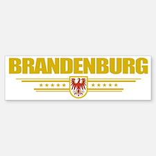 Brandenburg (Flag 10) pocket Bumper Bumper Sticker