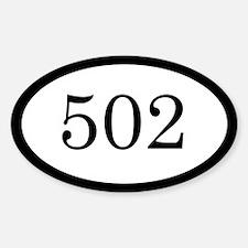 502_bumper Decal