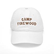 Camp-Firewood Baseball Baseball Cap