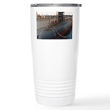 aspro note card Travel Coffee Mug