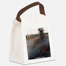 aspro note card Canvas Lunch Bag