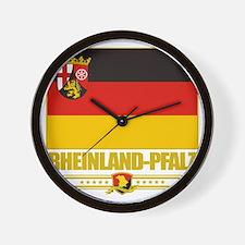 Rheinland-Pfalz (Flag 10) Wall Clock