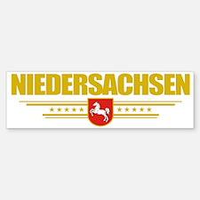 Niedersachsen (Flag 10) pocket Bumper Bumper Sticker