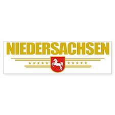 Niedersachsen (Flag 10) pocket Bumper Sticker