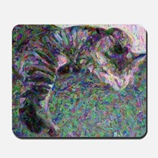 Napping Cat Old Master Mousepad