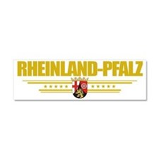 Rheinland-Pfalz (Flag 10) pocket Car Magnet 10 x 3