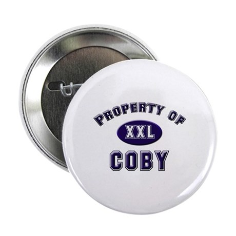 Property of coby Button