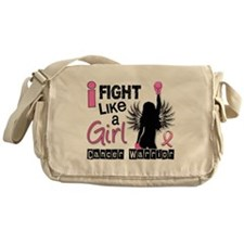 Fight Like A Girl Breast Cancer 26.2 Messenger Bag