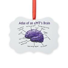 Atlas of an EMTs Brain Ornament