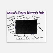 Atlas of a Funeral Directors Brain Picture Frame