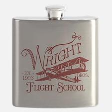 FlightSchoolCrimson Flask