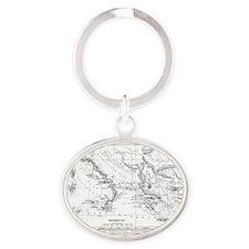 aeneaswanderings(cmstk52) Oval Keychain