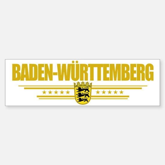 Baden-Wurttemberg (Flag 10) pocke Sticker (Bumper)